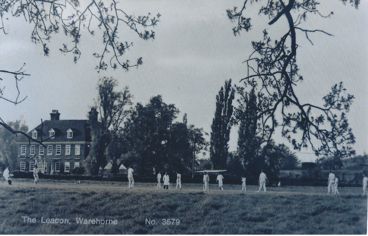 Cricket at the Leacon